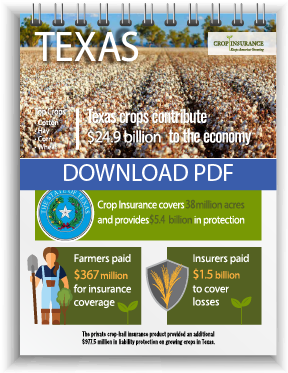 Download Texas Crop Insurance Fact Sheet