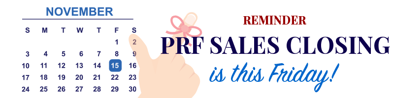 PRF Sales Closing | November 15