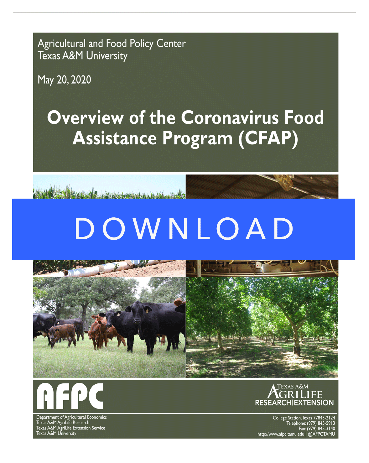 Overview of the Coronavirus Food Assistance Program | T&C Agribusiness